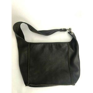 Alberta Di Canio Leather Crossbody Sling Slouch Ho